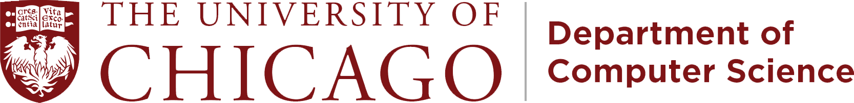The University of Chicago Department of Computer Science