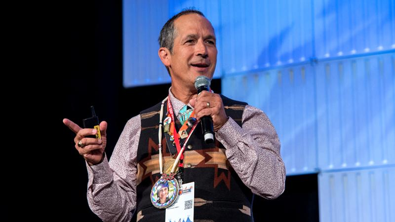 Dr. John B. HerringtonUSN (Ret) NASA Astronaut (Chickasaw Nation)